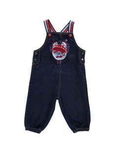Baby boys' denim dungarees CUDESAL / 18SG10F1SAL704