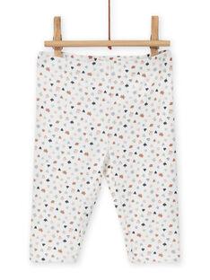 Conjunto de vestido y leggings con estampado de fantasía para recién nacido niña MOU1ENS6 / 21WF0342ENS001