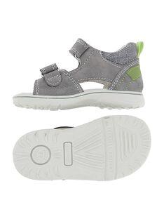 Baby boys' leather sandals CBGSANDCRO / 18SK38WCD0E940