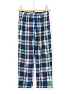 Pijama con estampado de espacio fosforescente para niño MEGOPYJFUZ / 21WH1297PYJC214