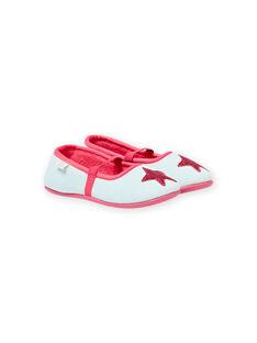 Patucos de color gris jaspeado con estampado de estrella para bebé niña MAPANTSTAR / 21XK3536D07943