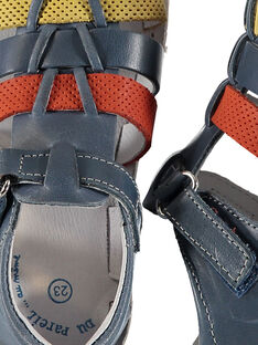 Sandalias de piel para bebé niño FBGSANDTRI / 19SK38K2D0EC218