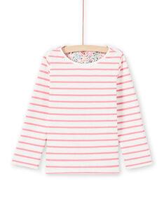 Camiseta de manga larga reversible para niña MAKATEE1 / 21W901I4TML001