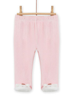 Pijama de soft boa con estampado de osito para bebé niña MEFIPYJOUR / 21WH1391PYJ001