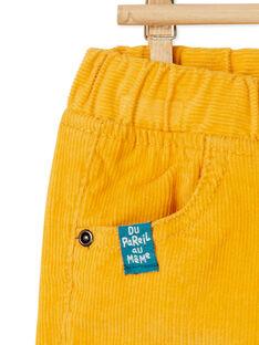 Yellow PANTS KUJOPAN2 / 20WG1052PANB106