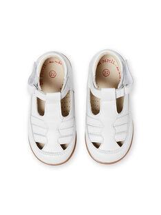 Salomés blancos para bebé niño LBGSALSANDB / 21KK3833D13000
