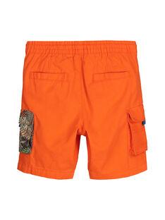 Bermudas con bolsillos para niño FOYEBER2 / 19S902M3BERF519