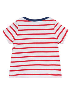 Camiseta de manga corta de color rojo JUJOTI3 / 20SG10T1TMCF524