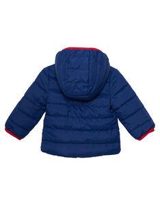 Anorak de color azul JUGRODOU / 20SG10I1D3E702