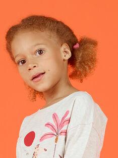 Pack de 3 gomas para el pelo con corazones a juego para niña MYAFUNELA / 21WI01T6ELAH700