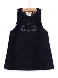 Vestido reversible sin mangas con estampado floral para bebé niña MIPLAROB3 / 21WG09O1ROBC202