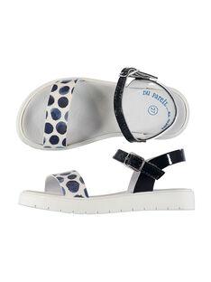 Sandalias bicolores para niña FFSANDJANE / 19SK35B2D0E070