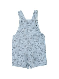 Baby boys' short dungarees CUBENSAC2 / 18SG10G2SAC099