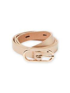 Cinturón de color rosa dorado para niña MYAESBELT2 / 21WI01E3CEI955