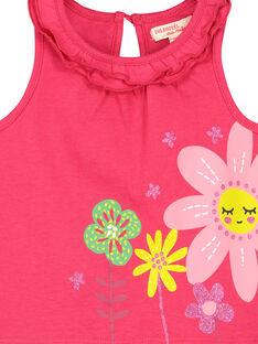 Camiseta de tirantes estampada para bebé niño FIYEDEB / 19SG09M1DEB304
