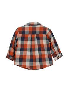 Camisa de cuadros para bebé niño FUBACHEM / 19SG1061CHM099