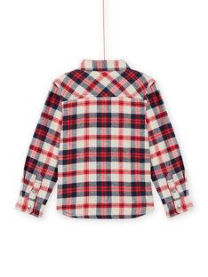Camisa de cuadros de franela para niño MOFUNCHEM / 21W902M1CHM810