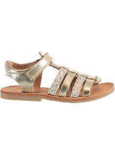 Sandalias de color dorado JFSANDMIND / 20SK35Z6D0E954