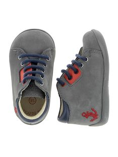 Baby boys' leather boots CBGBOTSEA / 18SK38W4D0F940
