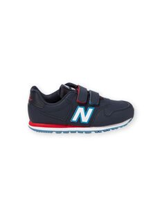 Zapatillas de color azul marino y blanco para niño KGYV500RNR / 20XK3623D37070