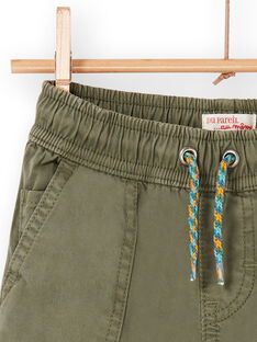 Pantalón caqui para niño LOVERPAN / 21S902Q2BERG631