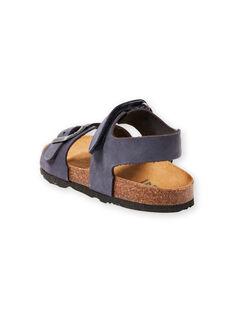 Sandalias azul marino para niño LGNUBLEU / 21KK3656D0E070