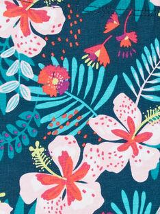 Leggings de color azul y rosa, para bebé niña LYIBONLEG / 21SI09W1CAL716