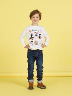 Camiseta blanca para niño MOMIXTEE2 / 21W902J3TML810