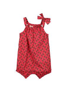 Pelele con estampado para bebé niña FIYEBAR / 19SG09M1BAR304
