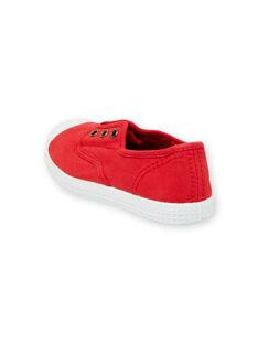 Tenis rojos para niño FGTENRED / 19SK36B5D16050