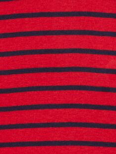Red ROLL-NECK KUJOSOUP3 / 20WG1044SPLF517