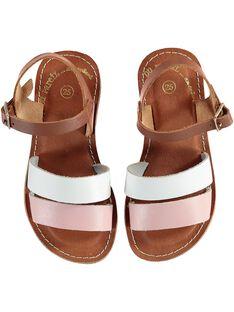 Sandalias de color marrón JFSANDMELI / 20SK35ZGD0E804