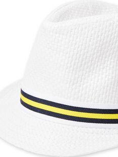 Sombrero blanco para bebé niño LYOJAUCHA / 21SI02O1CHA000
